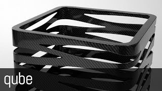 Qube (carbon fiber puff/table by Mast Elelements)