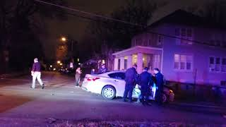 Bad Car Accident COPWATCH busted DUI