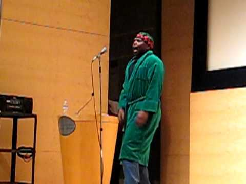 """""""Muhammad Ali"""" by Paradise - at the Kings of Poetry event in S.F."""