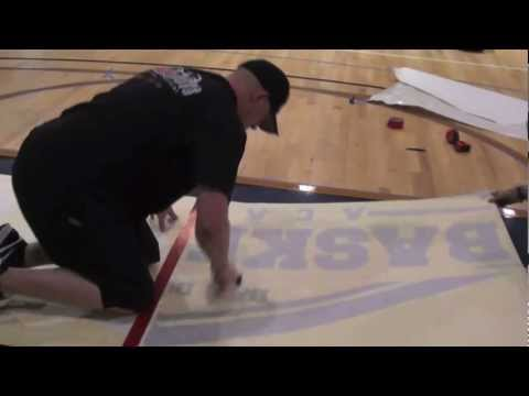 BASKETBALL COURT INSTALLATIONS, SANDING, PAINTING, AND FINISHING BY COURTSPORTS
