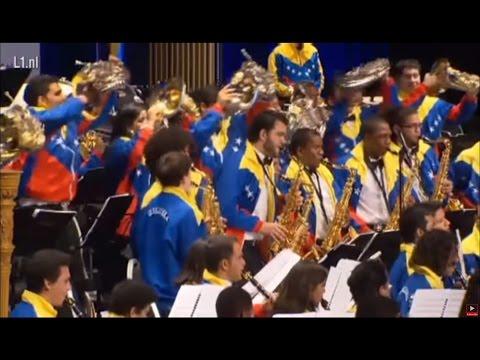 World Music Contest 2013, Kerkrade - EUYWO & Simón Bolivar