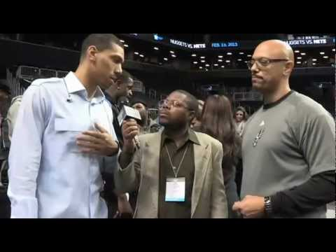 San Antonio Spurs Danny Green, Jr., and his Father Danny Green, Sr Talk Family and Basketball