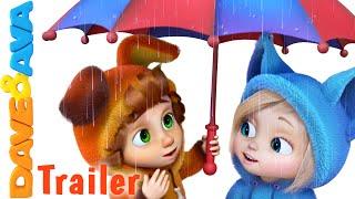 Rain Rain Go Away - Trailer | Nursery Rhymes and Baby Songs from Dave and Ava