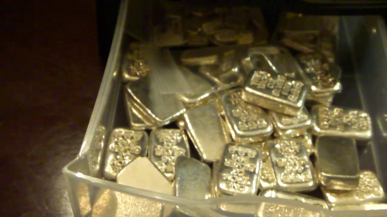 25 Oz Silver Bar Unboxing