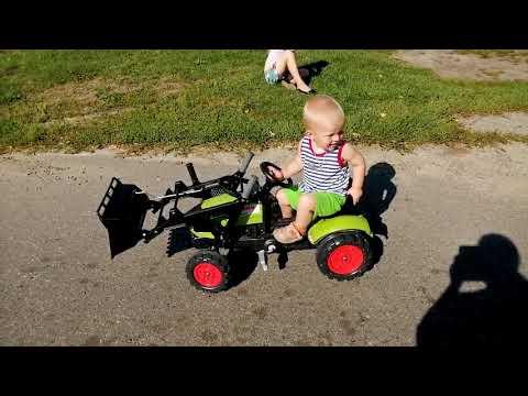 Педальный трактор Falk 2040N