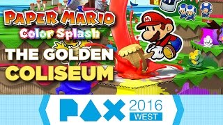 Paper Mario: Color Splash: 11 Minutes of Gameplay at PAX West 2016