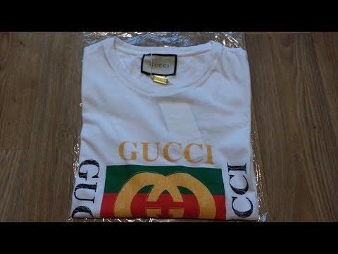 Подписчица прислала Антиквару футболку GUCCI