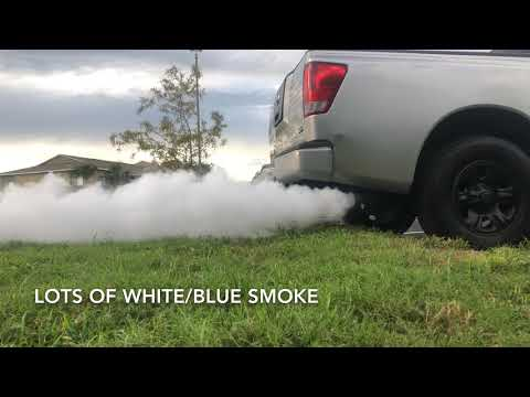 How To Fix Nissan Titan That Smoke At Start Up