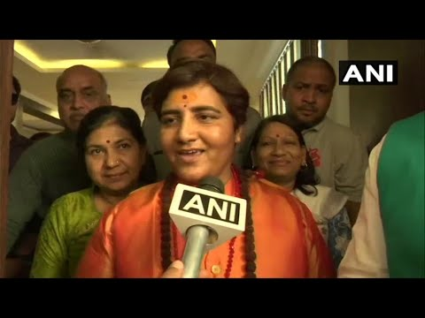 Lok Sabha elections 2019: Sadhvi Pragya joins BJP, may contest from Bhopal