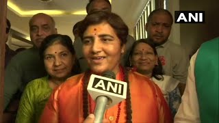 Lok Sabha elections 2019: Sadhvi Pragya joins BJP, may contest from Bhopal