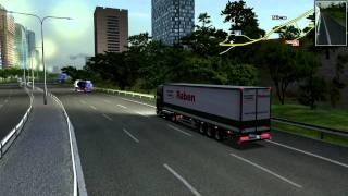 Euro Truck Simulator 2008 load to Nice with Scania R560 V8 FINAL