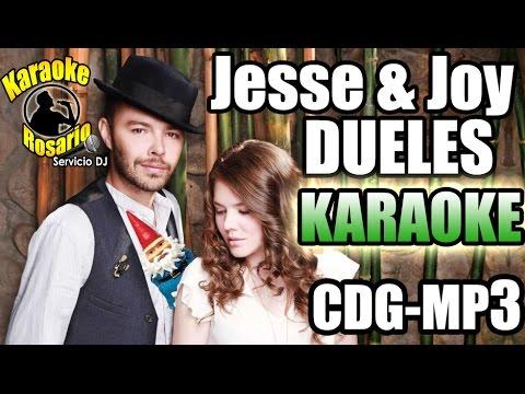 Jesse & Joy - Dueles (Karaoke Instrumental) (CON LETRA) �♬Cdg+Mp3