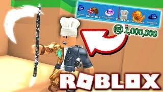 UNBOXING TOFUU'S LEGENDARY CHEF HAT IN MINING SIMULATOR!! (Roblox)