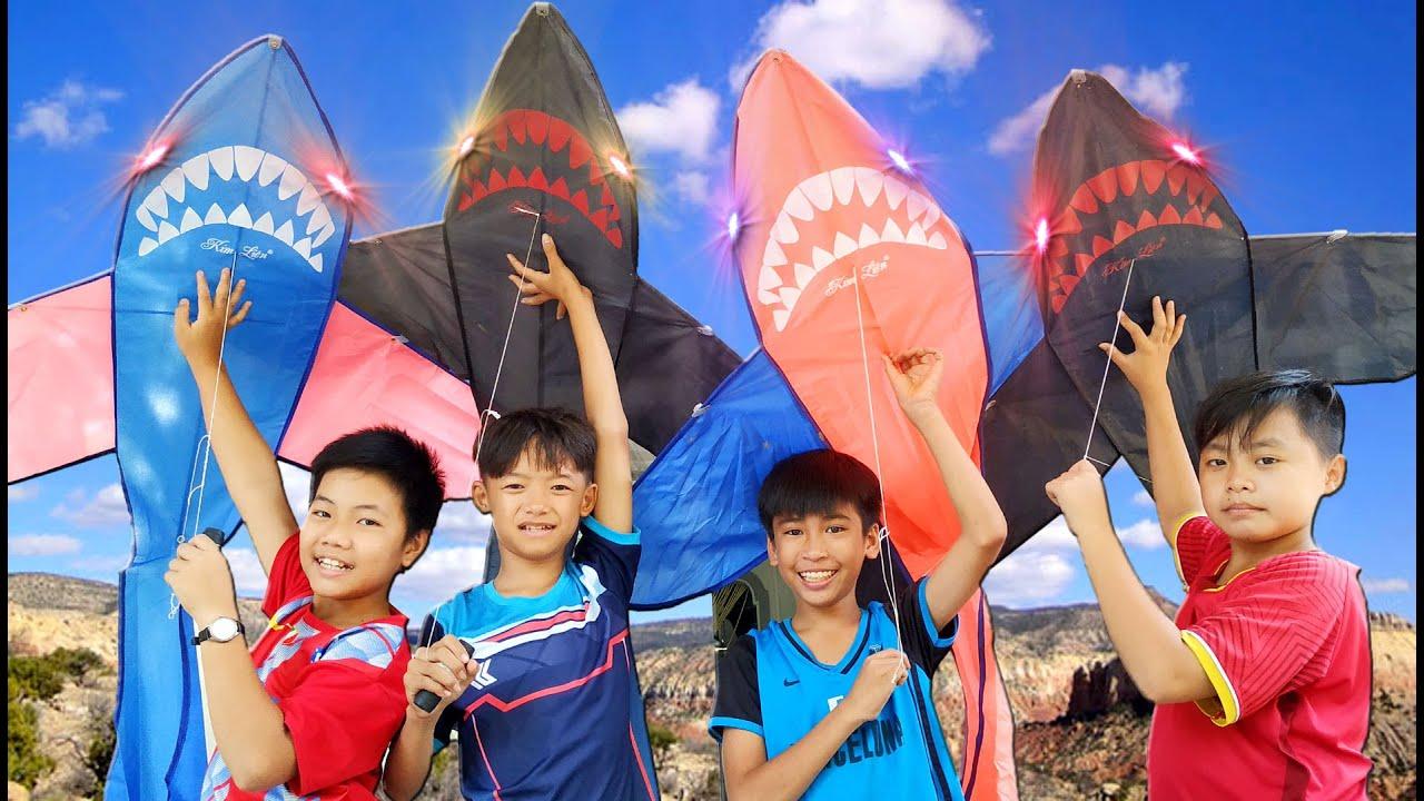Tony | Thả Diều Ở Cánh Đồng Hoang – Đàn Cá Mập Tung Cánh