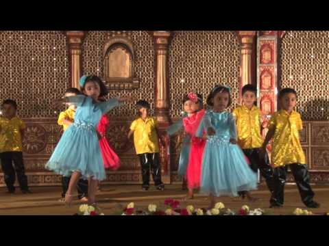God Allah Aur Bhagwan - HD English Medium School Gathering 2015-16