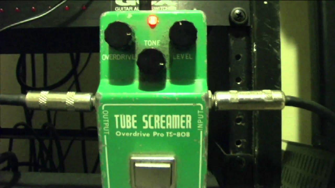 ibanez tube screamer ts 808