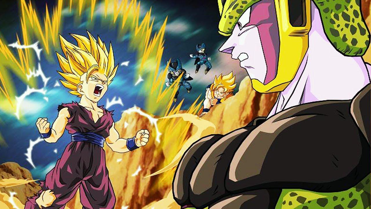 Dragon Ball Z Wallpapers Gohan: Gohan Kills Cell