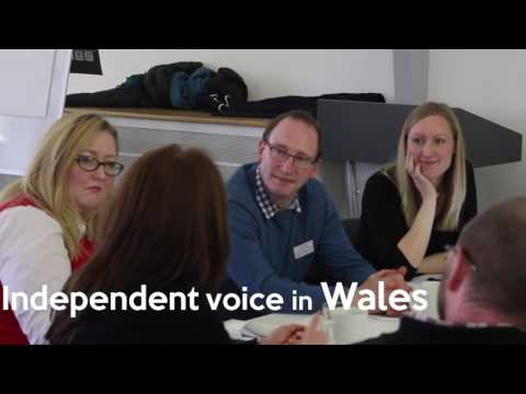 Talwrn - working with the voluntary sector in Wales