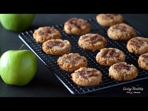 Healthy Apple Cinnamon Cookies (Paleo, Gluten-free, Vegan)