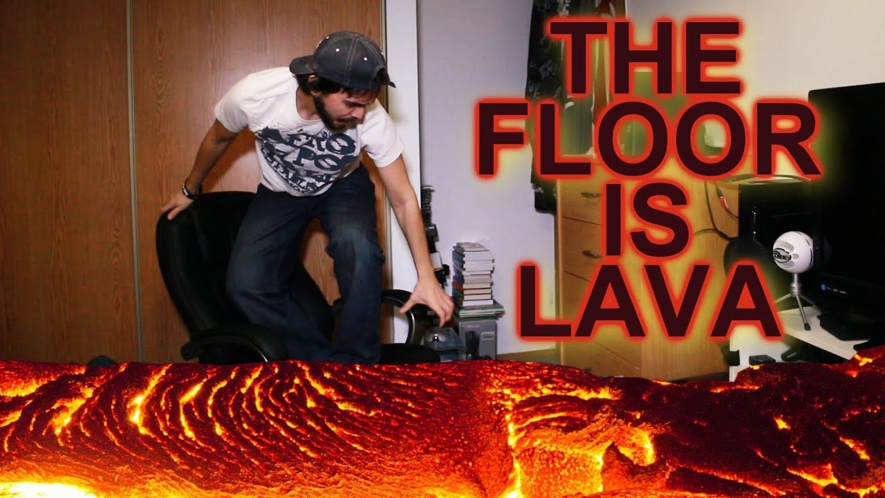 the floor is lava youtube. Black Bedroom Furniture Sets. Home Design Ideas