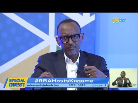 RBA hosts President Kagame   Kigali, 25 June 2017