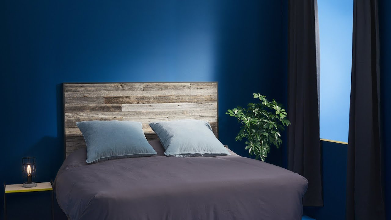 Porte En Tete De Lit tête de lit en bois de grange à faire soi-même | rona