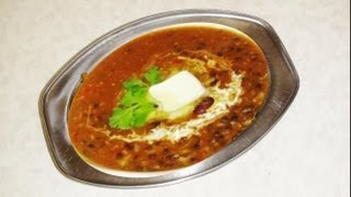 Dal Makhani Recipe Video - Indian Recipes By Bhavna