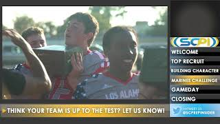 Marines Challenge at Los Alamitos Football