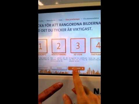 Touchscreen app
