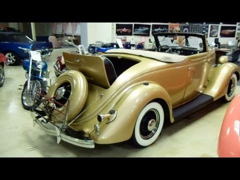 1935 Ford Rumble Seat Roadster - Offenhauser Equipped V8 Hot Rod