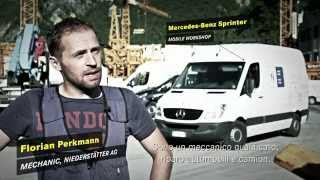 Niederstätter - myvan.com - Mercedes-Benz Sprinter - Rollende Werkstatt - Officina mobile
