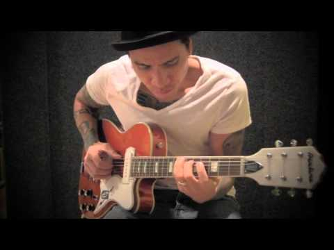 """RJ Ronquillo - """"Sleepwalk"""" TAB AVAILABLE - Swart AST amp - Eastwood Airline Tuxedo guitar (HD)"""