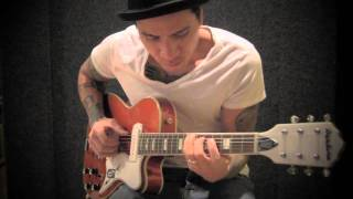RJ Ronquillo - Sleepwalk Solo Guitar - TAB AVAILABLE | Swart AST Eastwood Airline Tuxedo