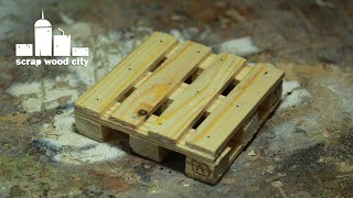 Diy Pallet Drink Coaster Made With Hand Tools