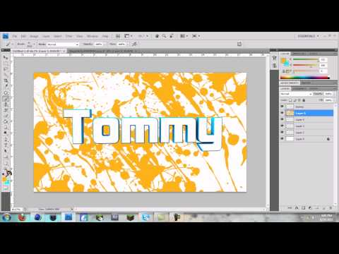 How to make a BASIC Desktop Background with Cinema 4D