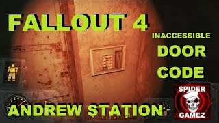 Fallout 4 - Andrew Station Inaccessible Door Code Location