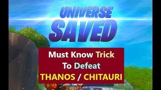 Win matches of Endgame as the Hero Team | FINAL Fortnite Avengers Endgame Challenge