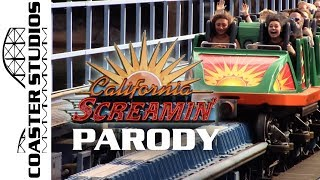 Coaster Parody: California Screamin (Incredicoaster) at Disney California Adventure