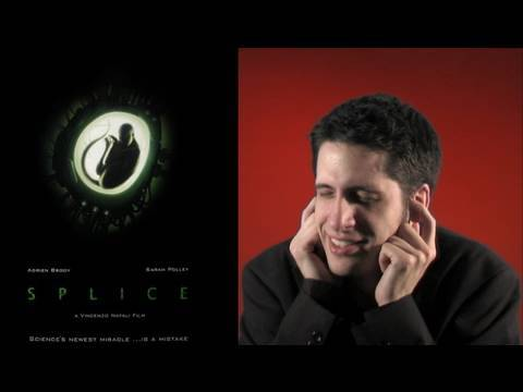 Splice movie review poster