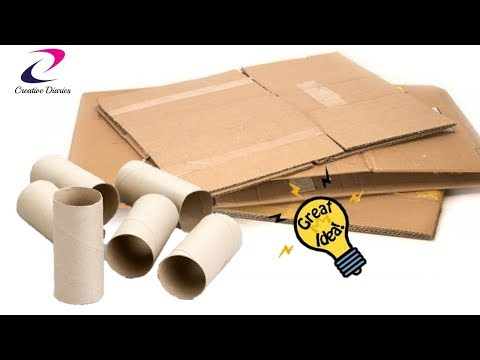 Top 5 Uses of Cardboard everyone should know | Cardboard compilation