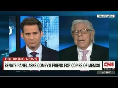 Jeffrey Lord Surrogate  and Carl Bernstein debate Senate Panel asking Comey's friend for memos