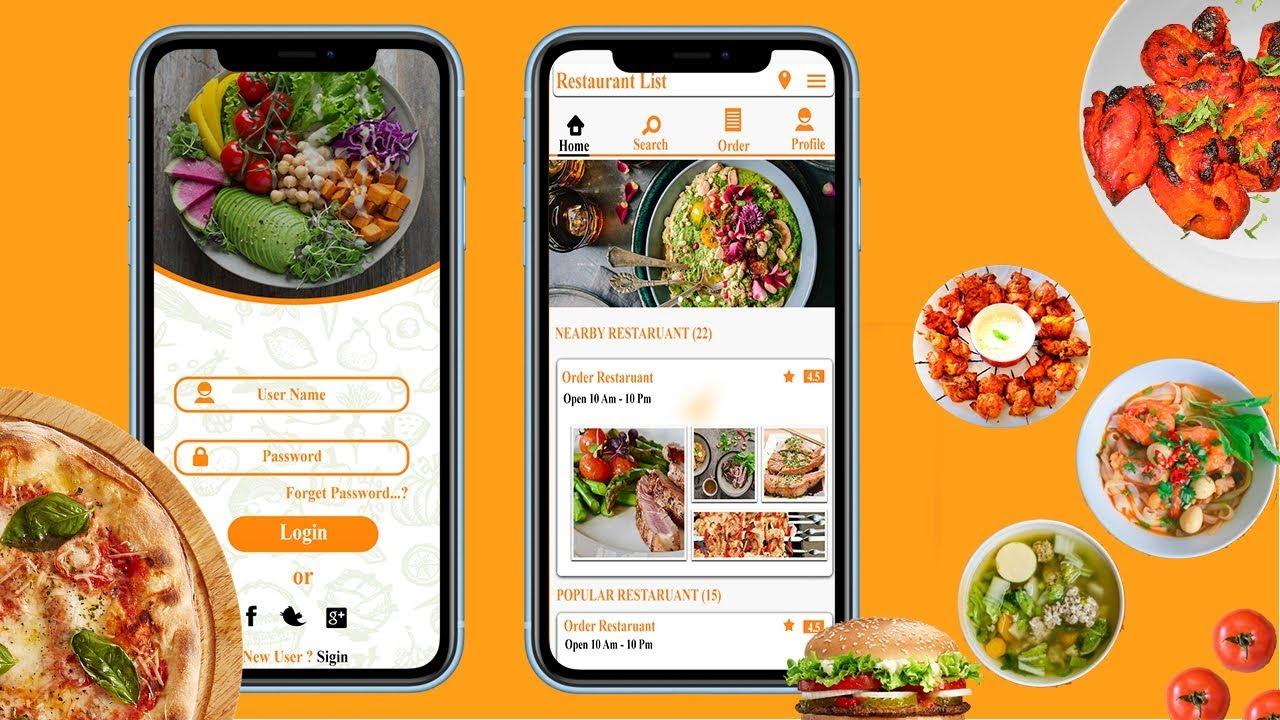 #2 Mobile App Design in Photoshop cc – Home page Design