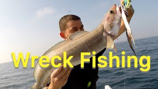 Wreck Fishing - Conger Eels and Ling