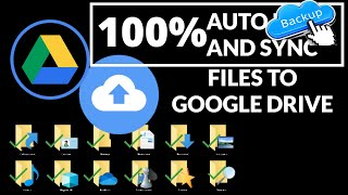 Automatically Back Up and Sync your Files to Google Drive screenshot 2