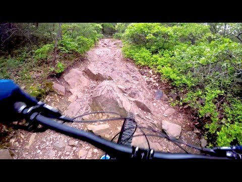 mtbBoston: Coon Hollow at Blue Hills Can Be Climbed Without a Go-Around