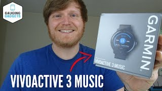 Garmin Vivoactive 3 Music Review and Overview