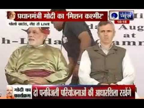 Narendra Modi inaugurates Leh-Kargil-Srinagar power transmission line