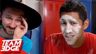 MESSY FLOUR TOWER CHALLENGE!!