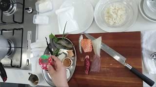2020년 생선초밥.된장국(하쌤의일식조리기능사)