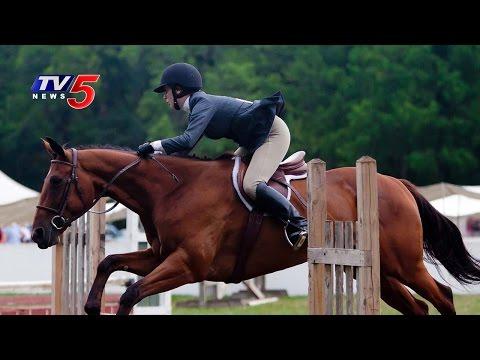 Horse Show At Hyderabad Polo Club | Hyderabad |  Telugu News | TV5 News
